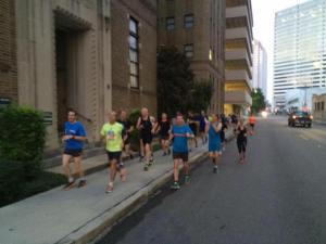 Running New Orleans